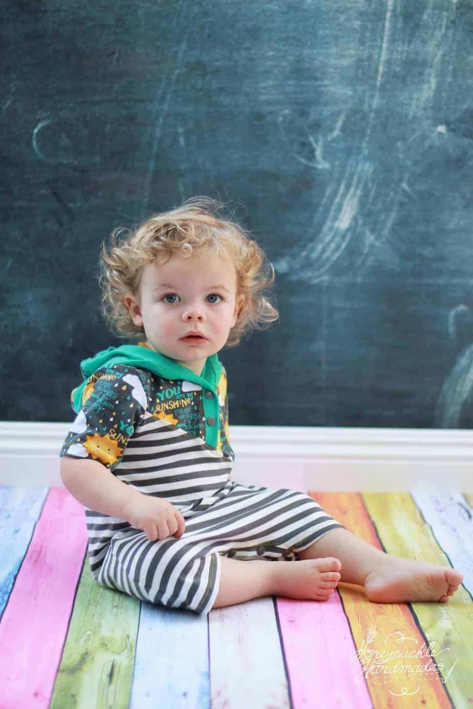 Milo Baby romper sewing pattern