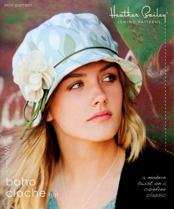 Heather Bailey Boho Cloche Hat sewing pattern