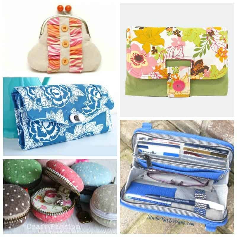 I love a pretty purse sewing pattern, but it has to be practical too. This is a great collection of purse and wallet sewing patterns and tutorials, plus a few larger purses too. Love that some are free too!