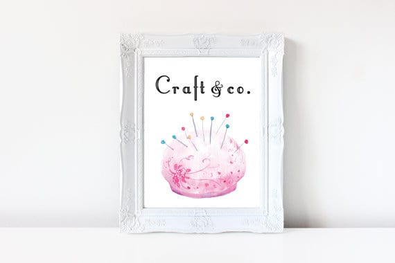 Craft & co.  From Harriet's Blossom Craft Room collection
