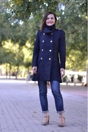 Quart coat sewing pattern by Pauline Alice