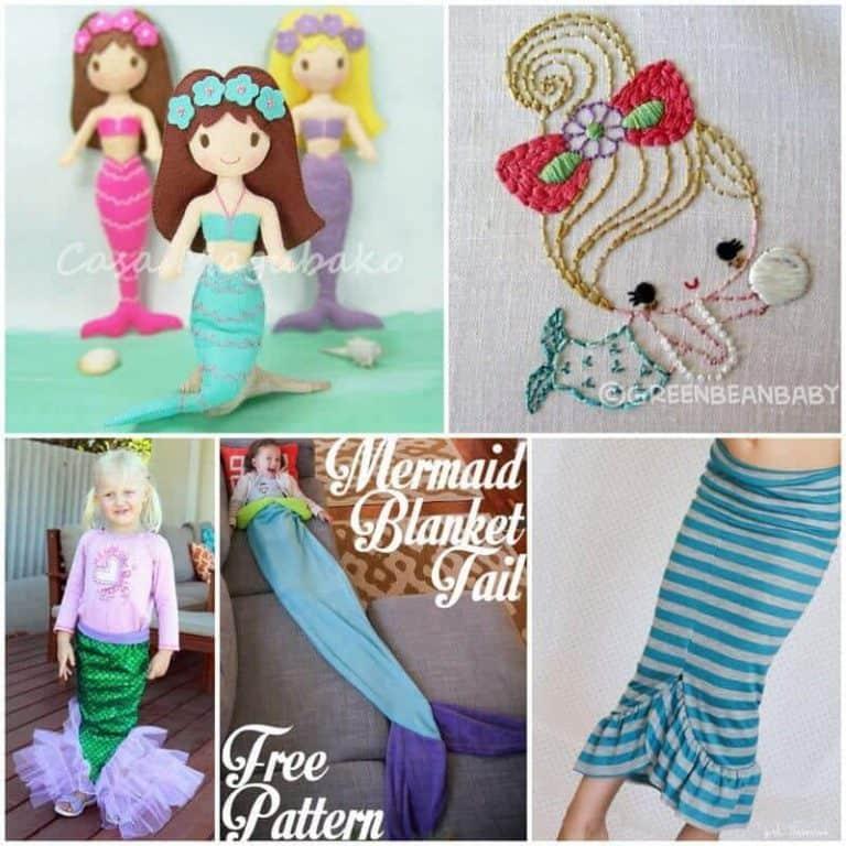 Mermaid sewing inspiration
