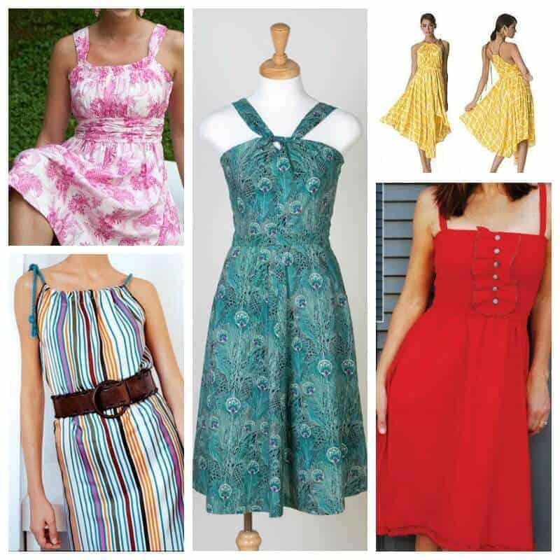 Summery Sundress Sewing Patterns Insta