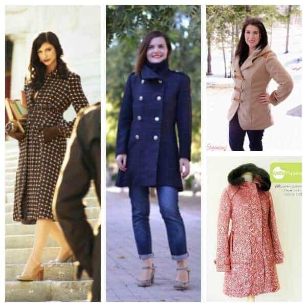 Winter Coat Sewing Patterns, Ladies Winter Coat Sewing Pattern