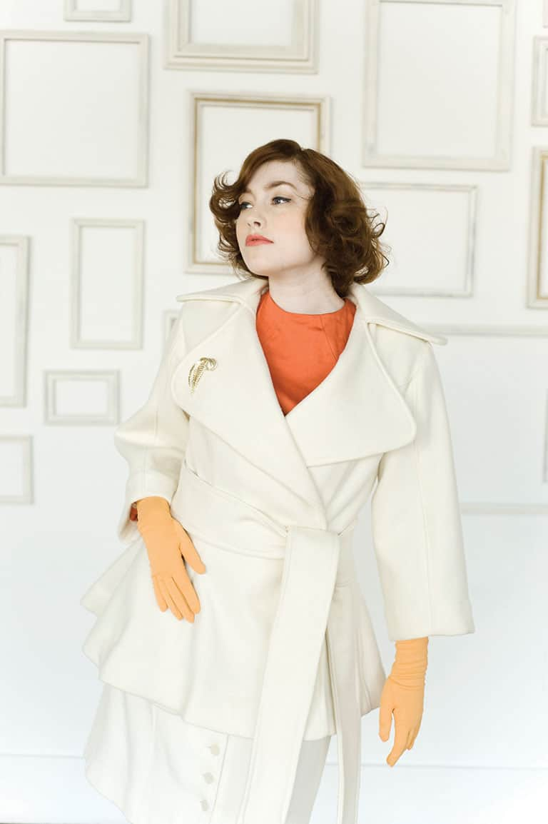 Lady Grey Coat sewing pattern, wrap coat from Colette Patterns
