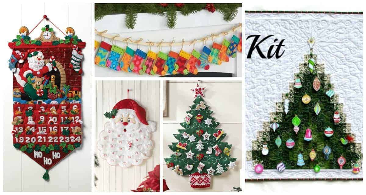 The best advent calendar kits to sew