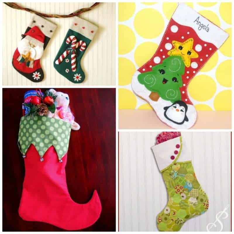 Christmas Stocking Sewing Patterns SQ