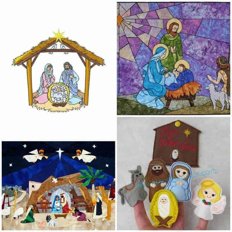 Nativity Scene Sewing Patterns