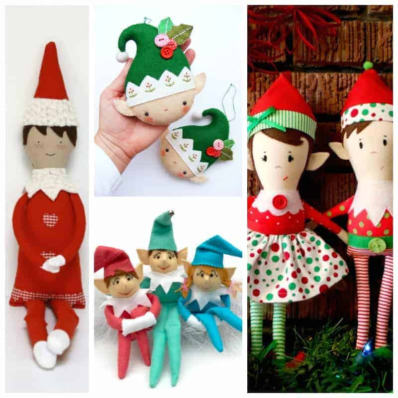 Cutest Christmas Elf Sewing patterns_SQ