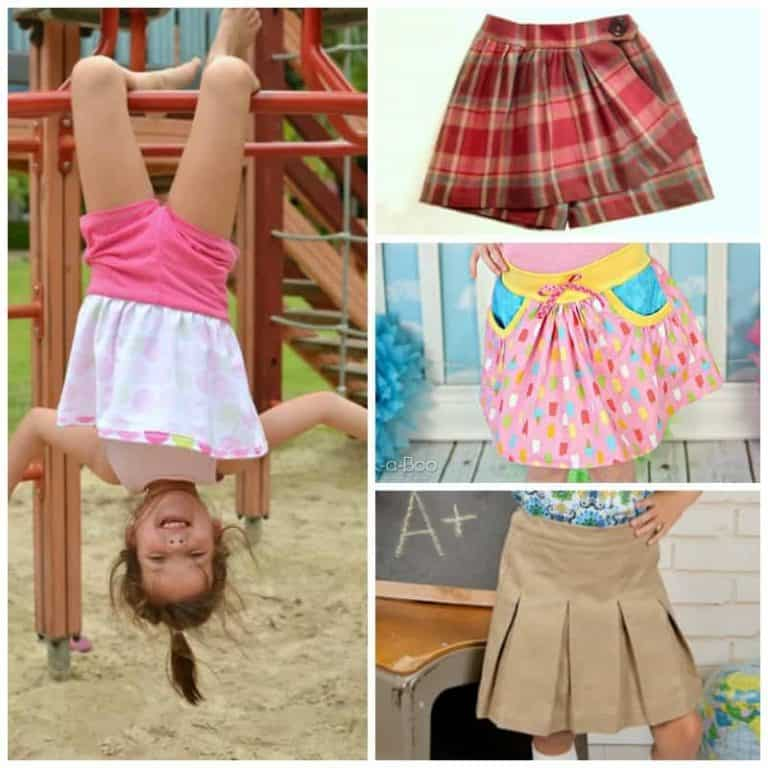 Chic Shorts & Skorts to sew for the active girl