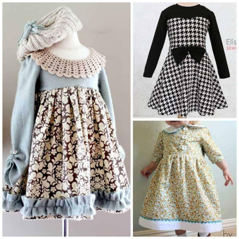 Winter Dress Sewing Patterns SQ