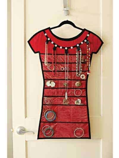 Store in Style Jewelry Organizer sewing pattern from Indygo Junction