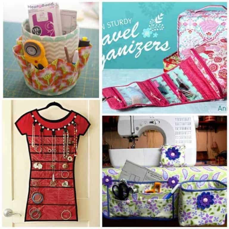 The best sewing patterns to organize your life