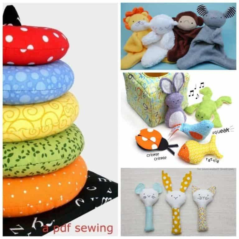 Cute and Quick: Easy baby toy sewing patterns