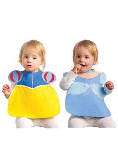 Snow White and Cinderella Princess Baby Bib Sewing Pattern