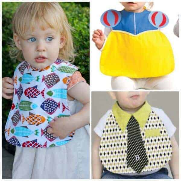 Catch the mess with the best baby bib sewing patterns