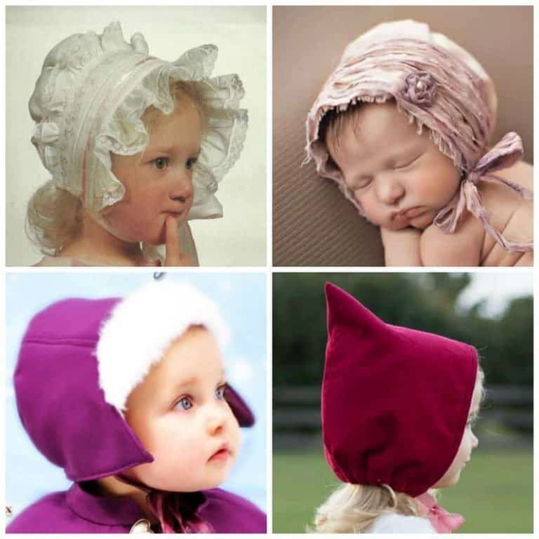 Simply Sweet Baby Bonnet sewing patterns