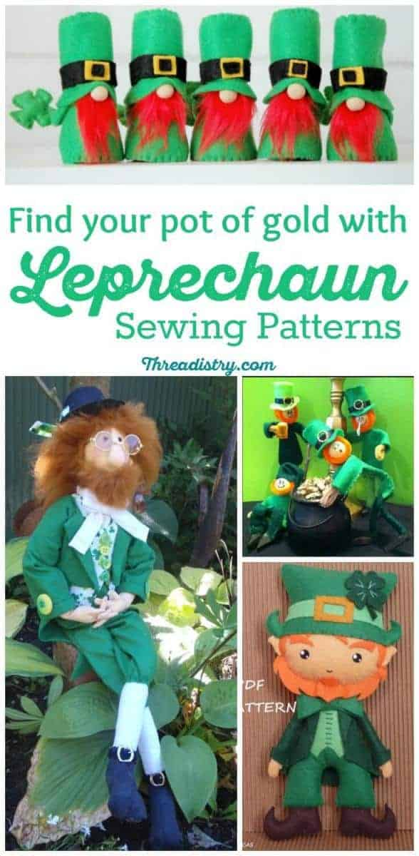 Get the luck of the Irish on St Patricks Day with these DIY leprechaun doll sewing patterns and tutorials. Whimisical or cute, there are some adorable patterns to choose from. Always time to craft!