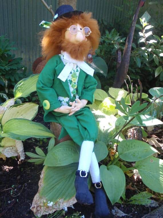 Murphy the Leprechaun sewing pattern from Red Hen Designs