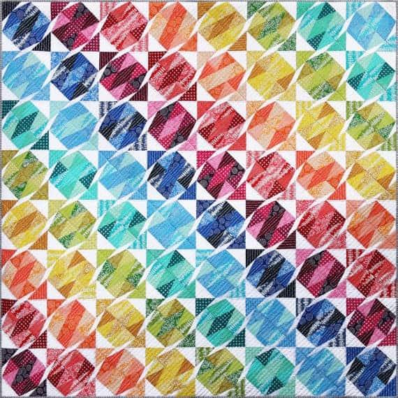 Gemstone Tumble Quilt pattern from Emma Jean Jansen.