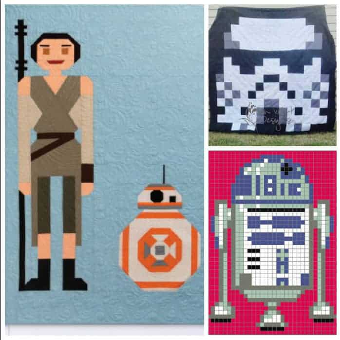 May the Force be with you with Star Wars Quilt Patterns