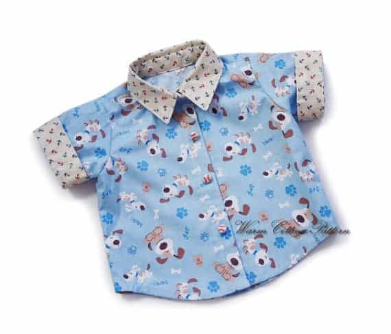 Baby shirt patterns from Warm Cottage