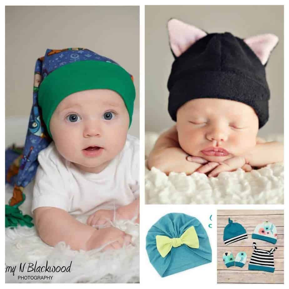 Baby hat sewing patterns SQ