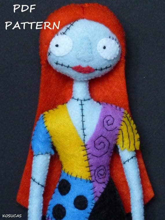 Felt_Sally_doll_sewing_pattern