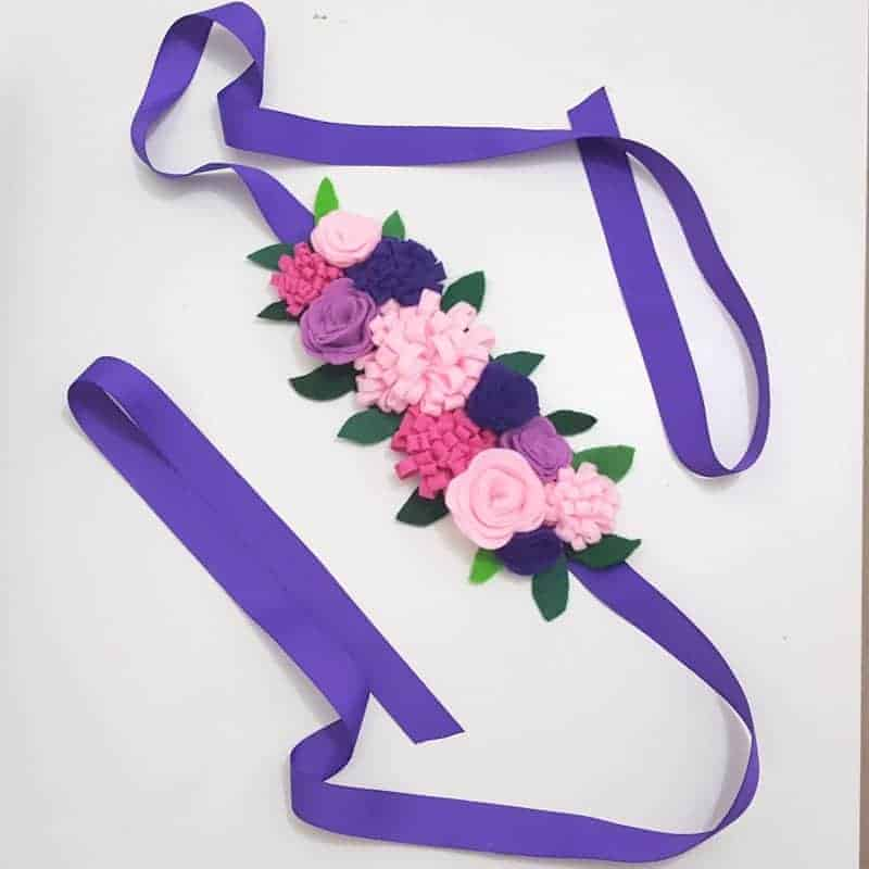 Fun Woodland style flower headband for kids costumes