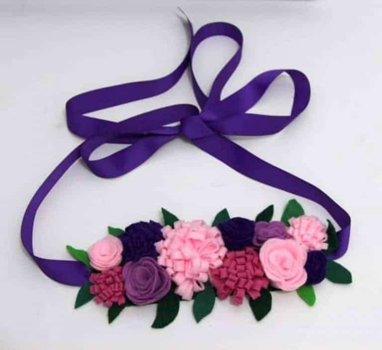 Gorgeous DIY Flower Crown for a fairy princess
