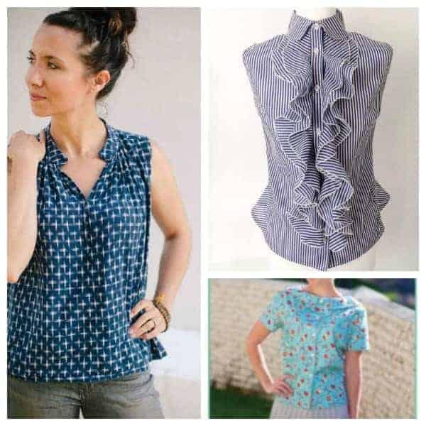 Feminine to formal: Fabulous Blouse Sewing Patterns