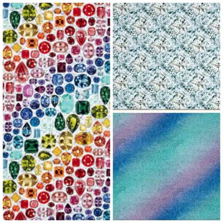 Fave Fabric Friday: Hoffman Digital Shine 2018 Challenge
