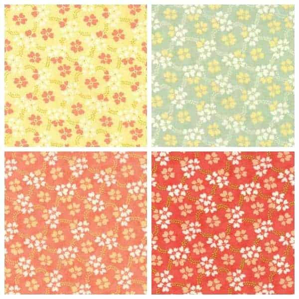 Daisy rings fabric from the Ella & Ollie collection from Moda