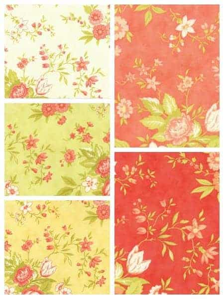 Meadows fabric from the Ella & Ollie collection from Moda