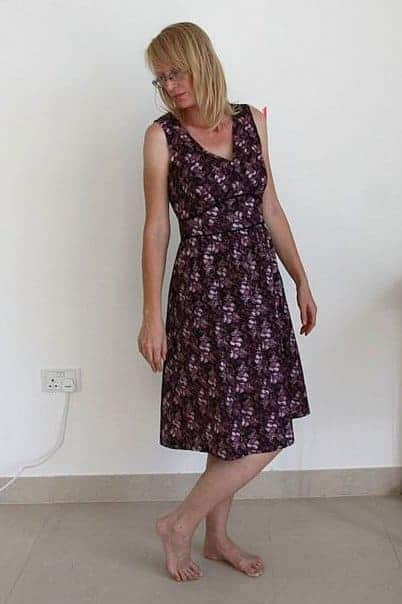Women's dress sewing pattern review: Madame Josephine dress from P&M Patterns
