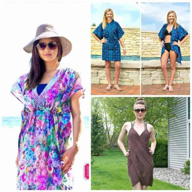 Stylish Beach Cover Up sewing patterns for women