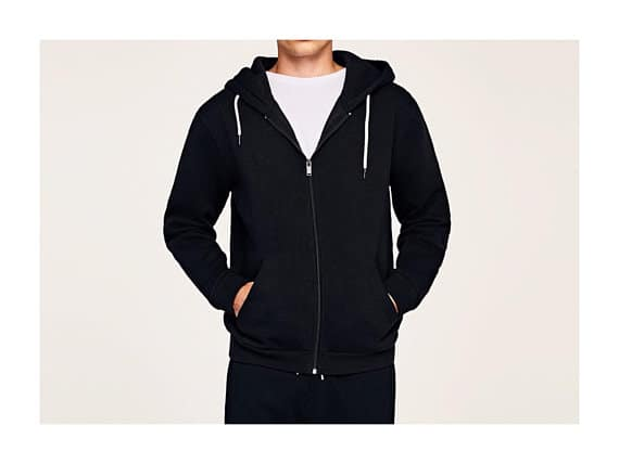 The Matteo Hoodie from Patterns In Florence is classic zip-up hoodie sewing pattern