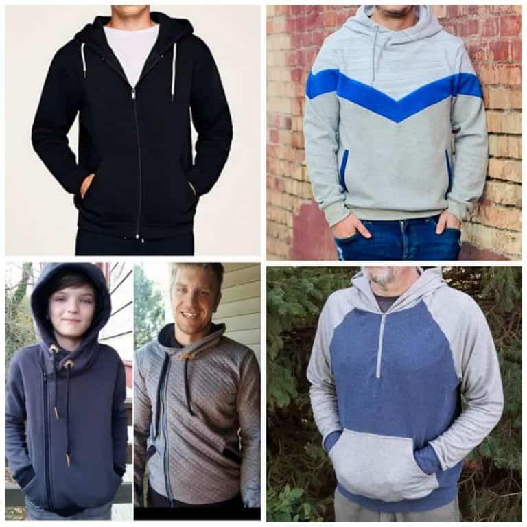 Men's Hoodie sewing patterns | Sewing for Men