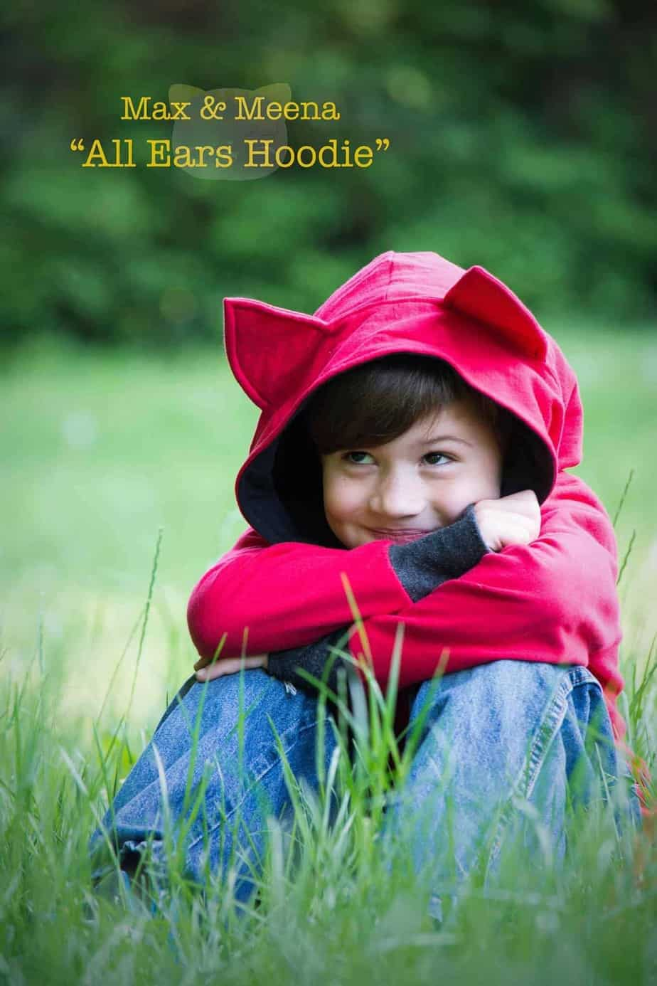 All Ears kids hoodie pattern from Max and Meena. Over a dozen animal options - so cute!