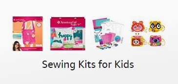 Find the best sewing kits for kids in the Threadistry Amazon store