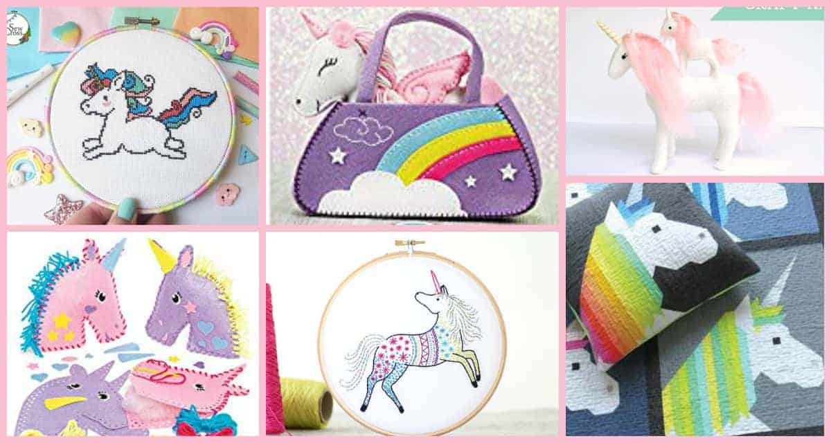 Find the cutest unicorn sewing kits at Threadistry
