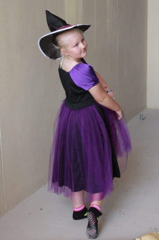 Handmade witch costume