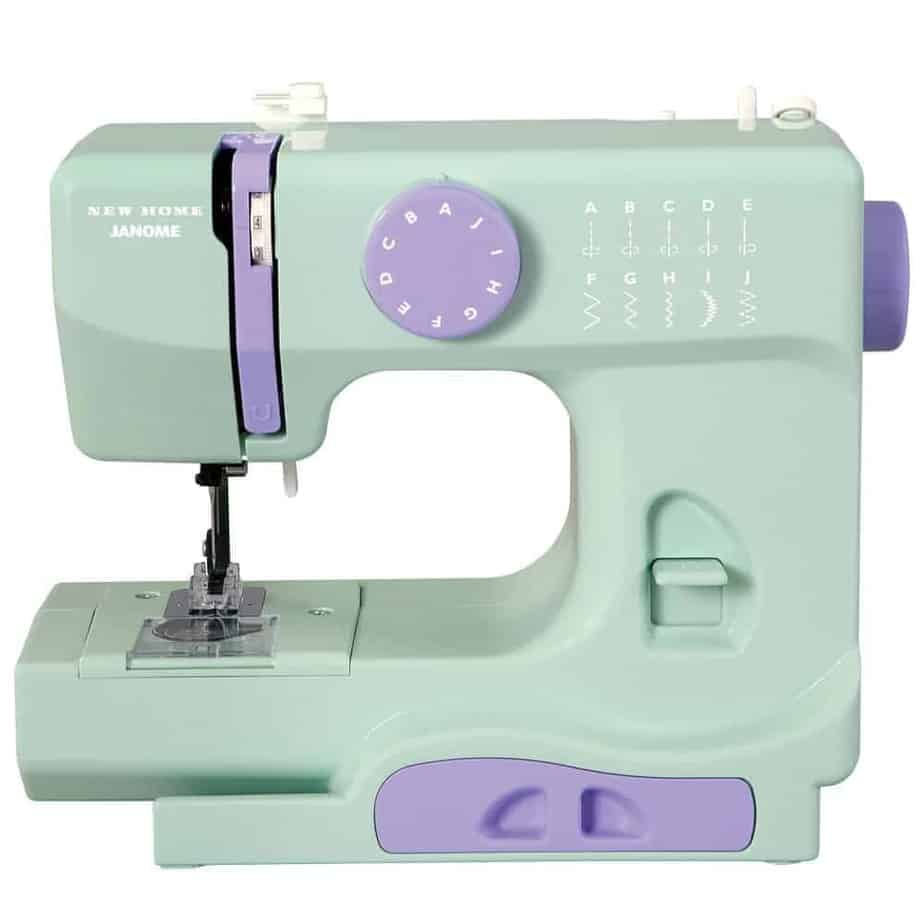 Janome 10 speed sewing machine