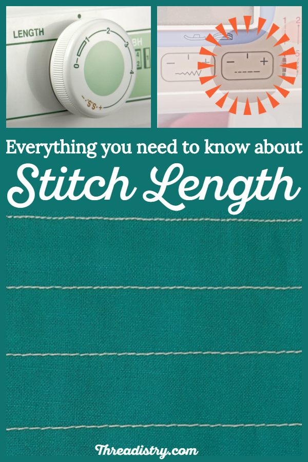 Everything you need to know about stitch - tips and a guide for choosing the perfect stitch length every time, whether sewing or quilting. Improve your sewing skills for beginners and intermediate sewists. #sewingtips #sewing