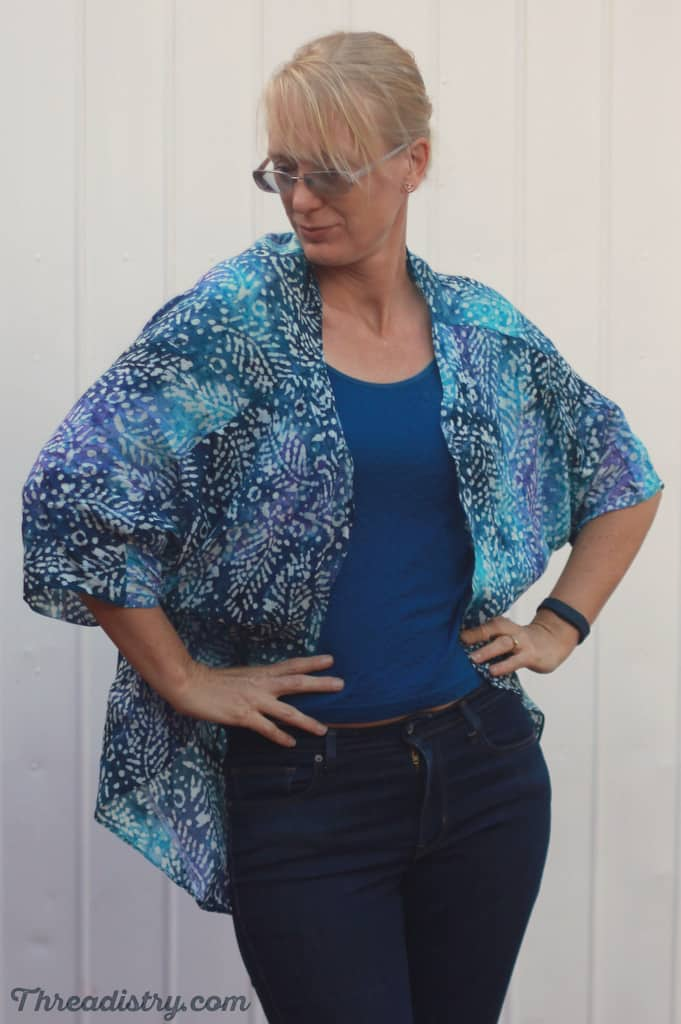 Weekendje Kimono sewing pattern from The Eli Monster
