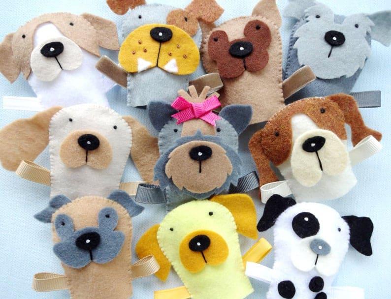 felt-dog-finger-puppets