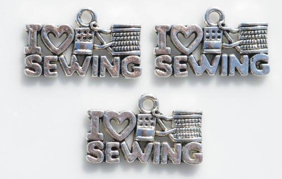 I love sewing charm