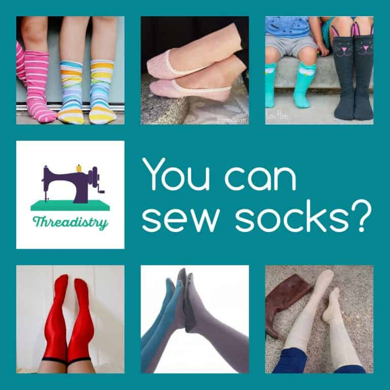 You can sew socks? – The best sock sewing patterns