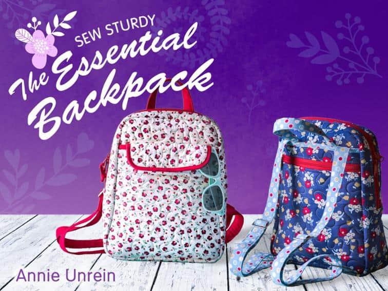 Sew Sturdy: The essential backpack class on Bluprint