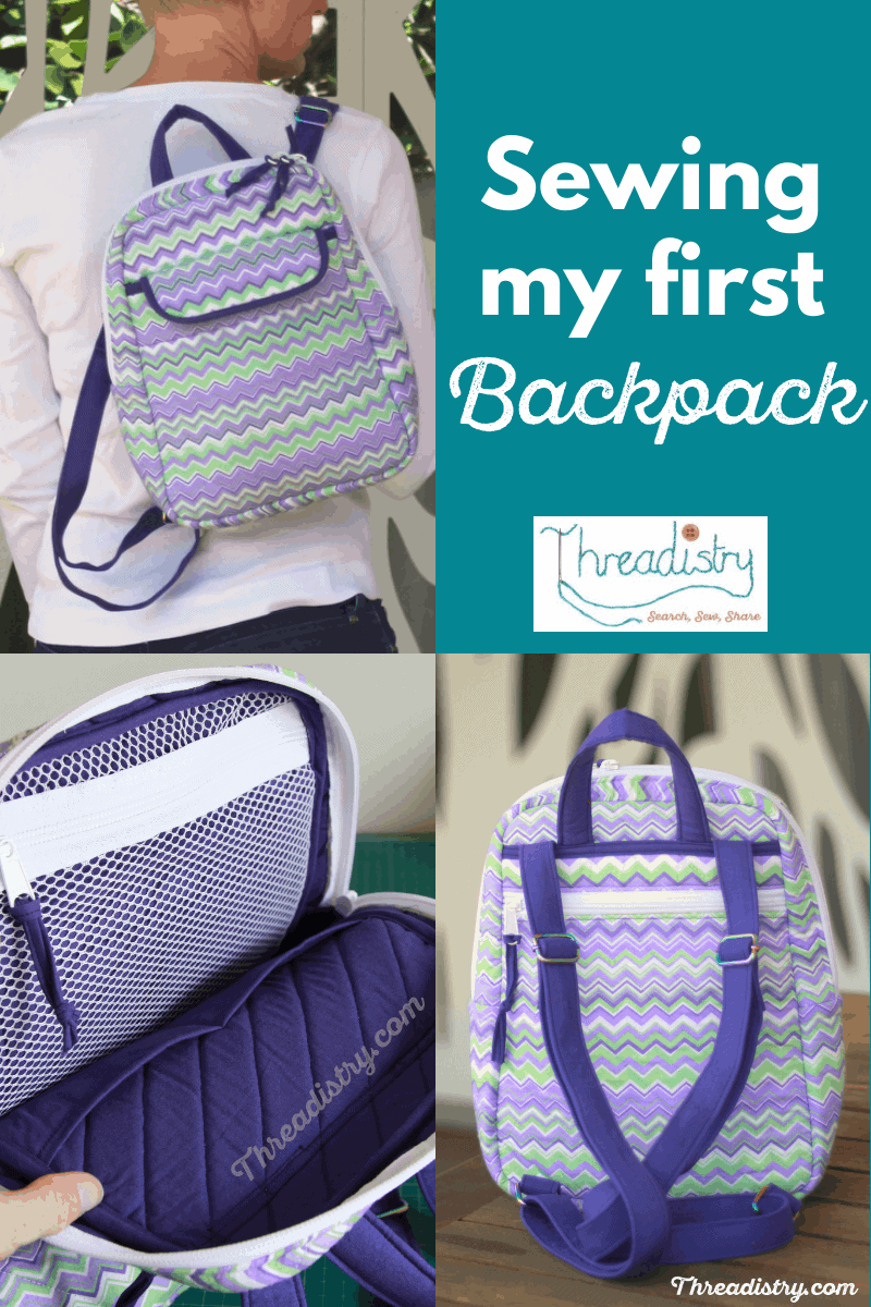 Sewing my first backpack